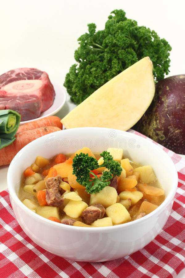 Turnip stew stock photos