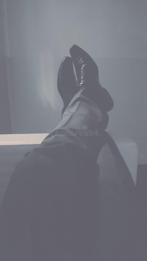 Turno da noite de relaxamento imagem de stock royalty free