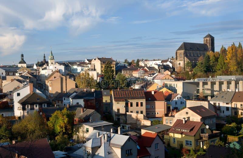 Turnov, République Tchèque photo stock