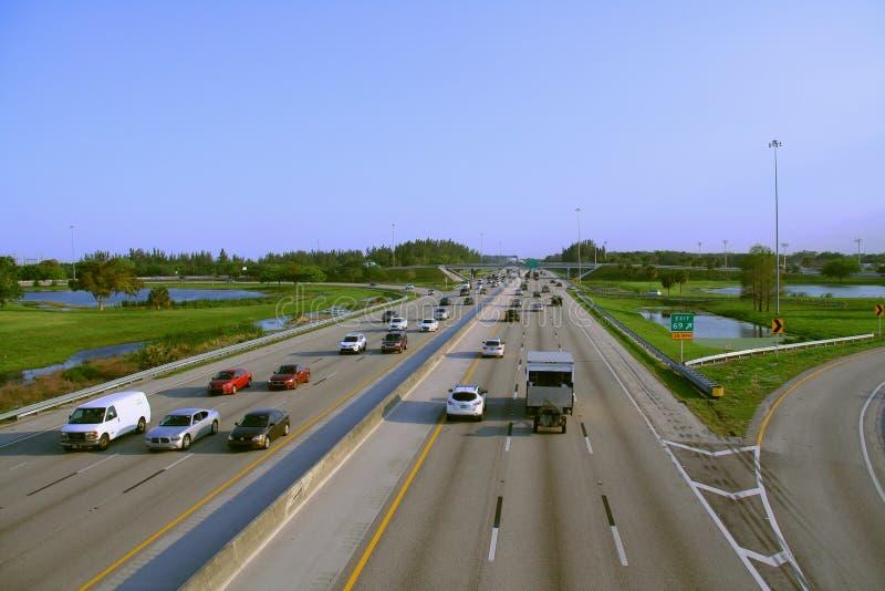 Turnpike de Florida fotografia de stock