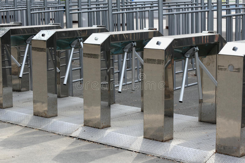 Download Turnstile stock image. Image of technology, system, boundary - 24865149