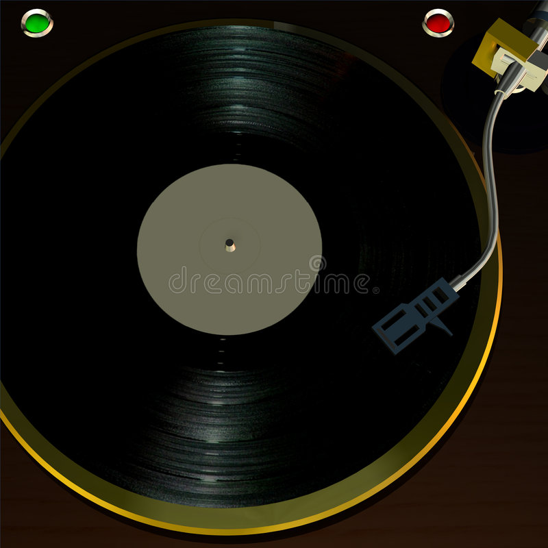 Turntable 1 Stock Images