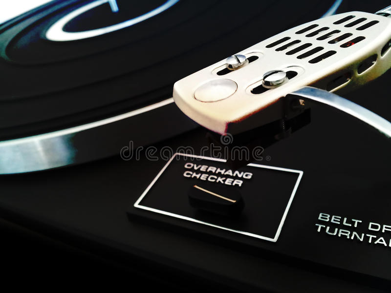 Download Turntable stock image. Image of drive, style, closeup - 28585259
