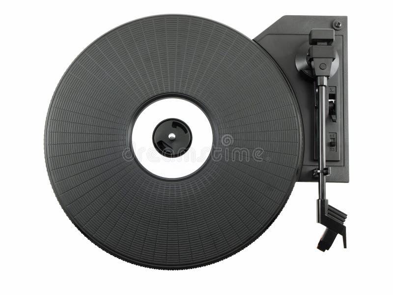 turntable arkivbild