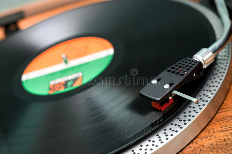 Turntable. Retro turntable. Retro revival concept royalty free stock photos
