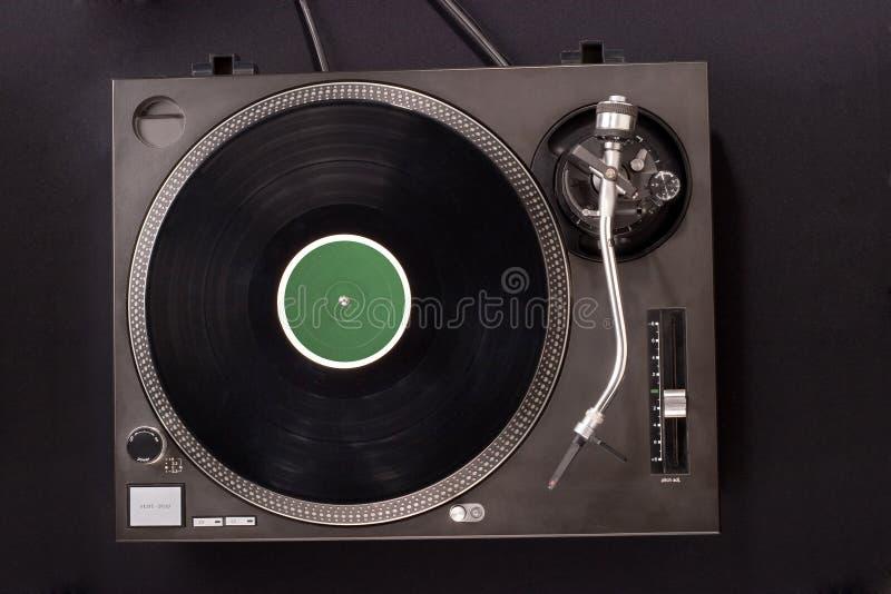 turntable dj s стоковое изображение