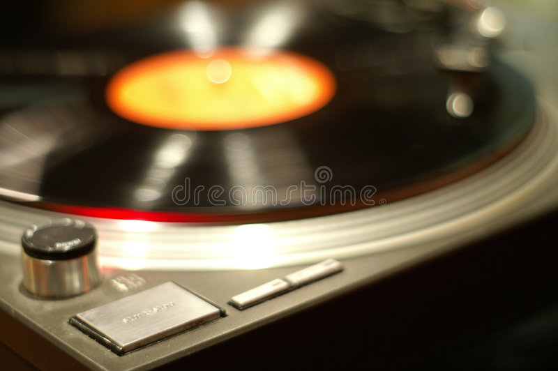 Turntable rocks. The turntable seems to rock to the music stock images