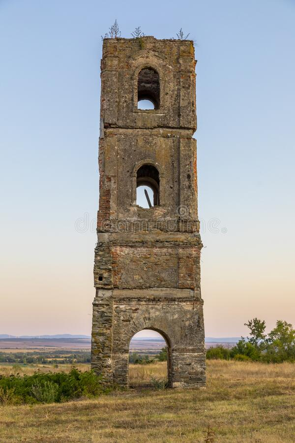 Free Turnul De Pe Deal, The Tower On The Hill, Historical Monument, Gradinari Village, Near Oravita City, Caras-Severin County, Romania Royalty Free Stock Photography - 217274527