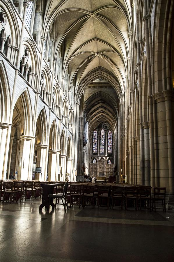 Turo Cathedral R-U gigaoctet Royaume-Uni photographie stock libre de droits
