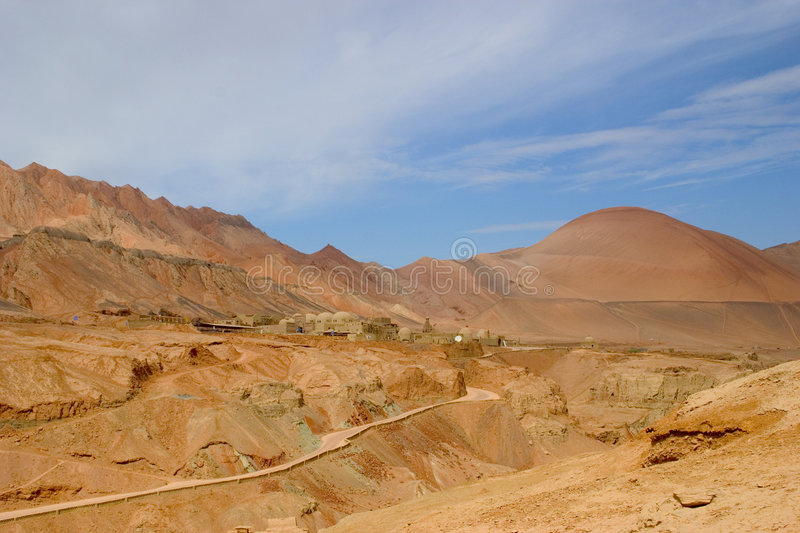 Turpan. Located in China's north-west to the famous and very hot weather royalty free stock photo