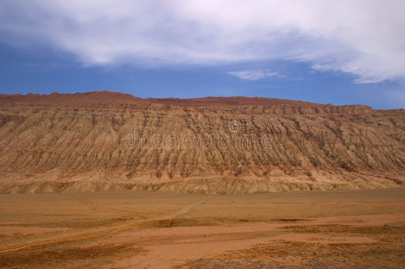 Turpan. Located in China's north-west to the famous and very hot weather stock photos