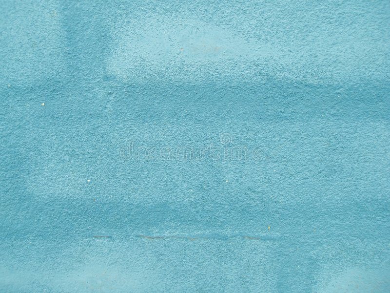 Turqouise brick wall stock image