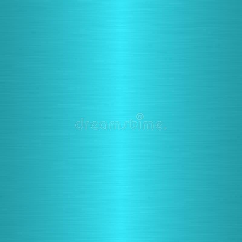 Turquesa aplicada con brocha linear stock de ilustración