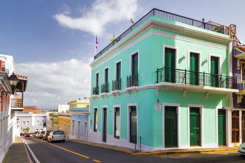 Turquesa Puerto Rico foto de archivo libre de regalías