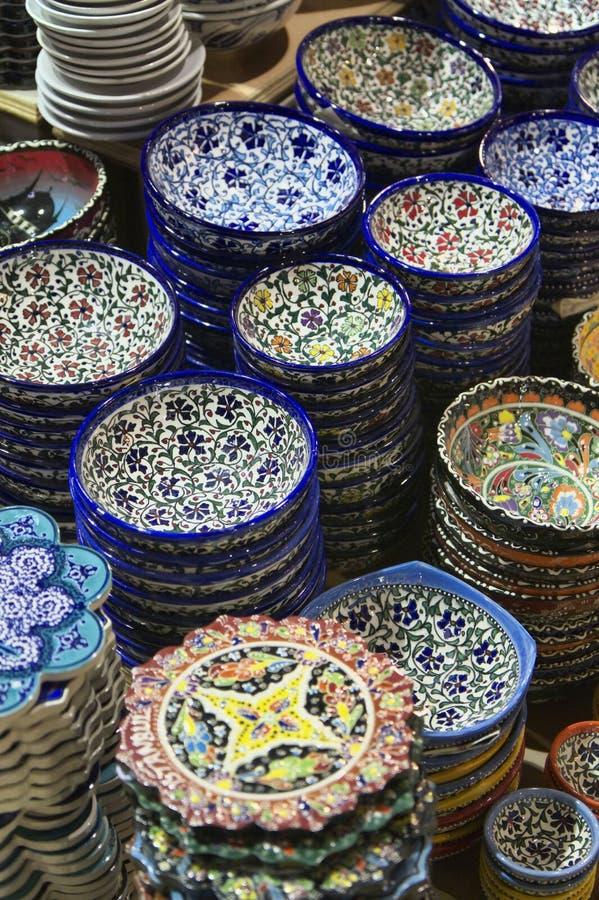 Turquia, Istambul, bazar grande fotos de stock