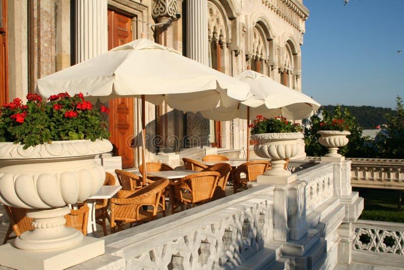 Turquia. Istambul. Café foto de stock