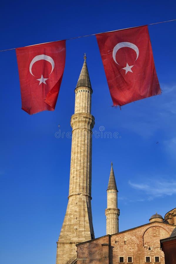 Turquia, Istambul, catedral do St. Sophia imagem de stock royalty free