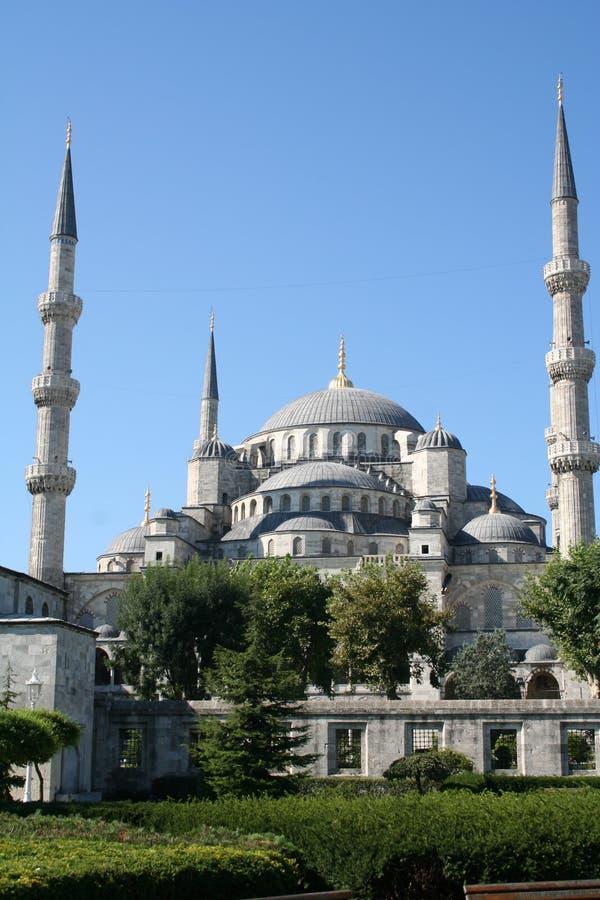 Turquia. Istambul. Mesquita azul imagem de stock