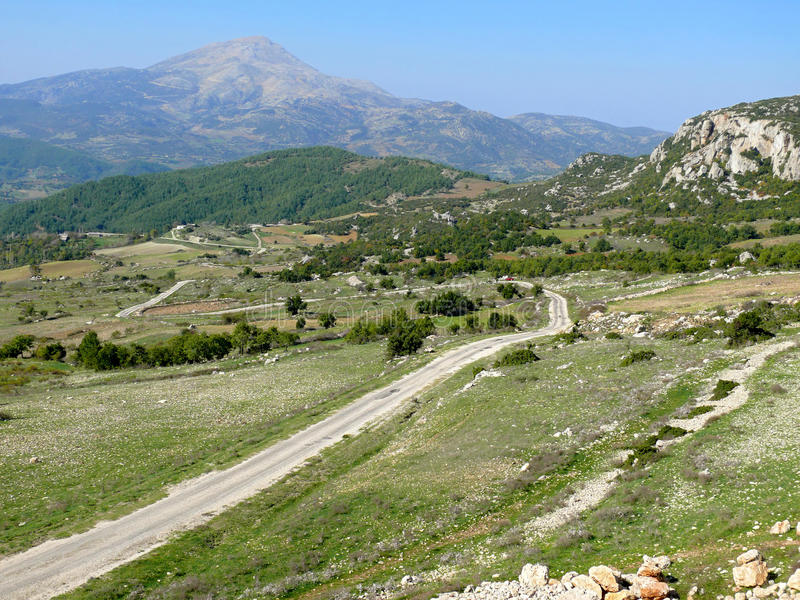 Turquia. Montanhas. foto de stock royalty free