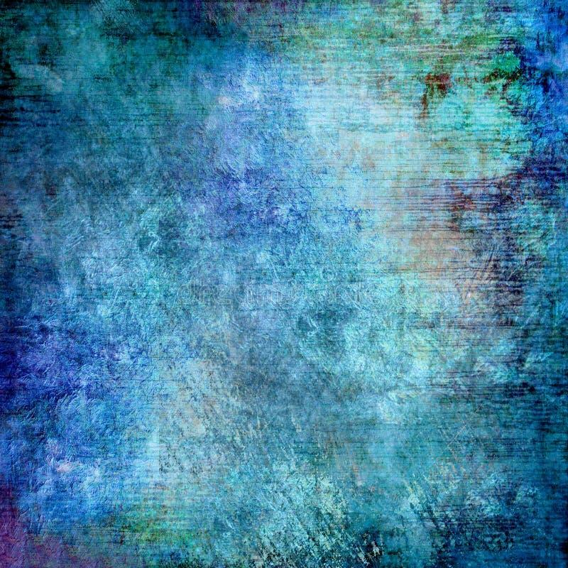 Turquoise background royalty free illustration