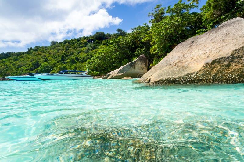 Turquoise Bay Of Andaman Sea Stock Photo