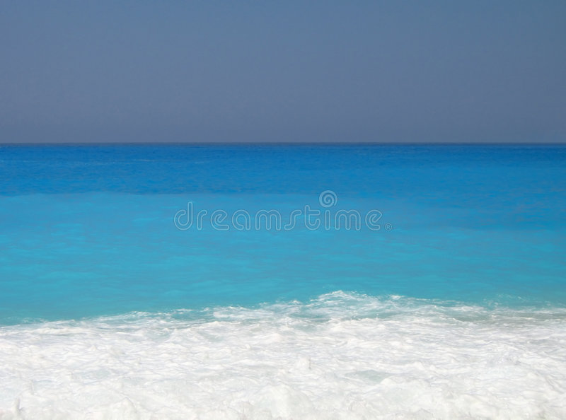 Turquoise beach royalty free stock image