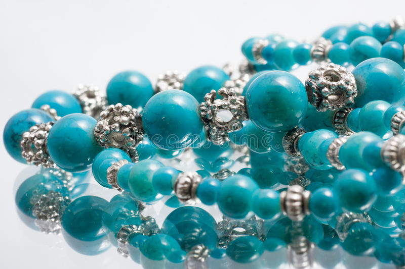 Download Turquoise beads stock photo. Image of ornate, culture - 13010416
