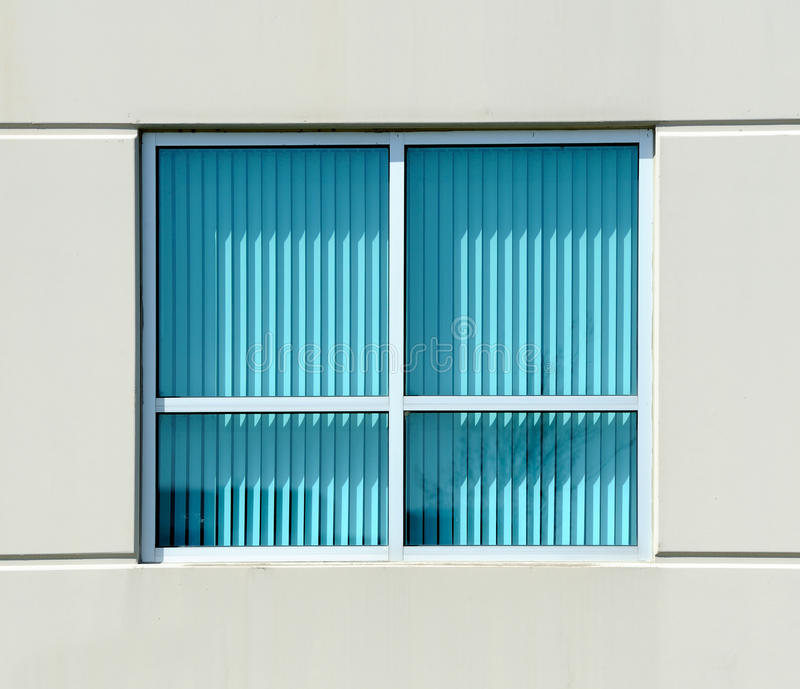 Download Turquoise blinds stock image. Image of hanging, blue - 13798921
