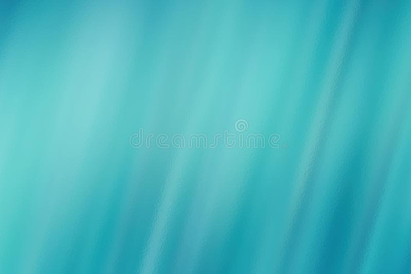 Turquoise abstract glass texture background or pattern, creative design template royalty free illustration