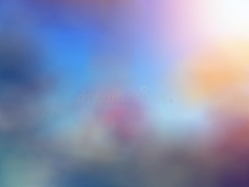 Turquoise blue purple beige blurred background stock photos