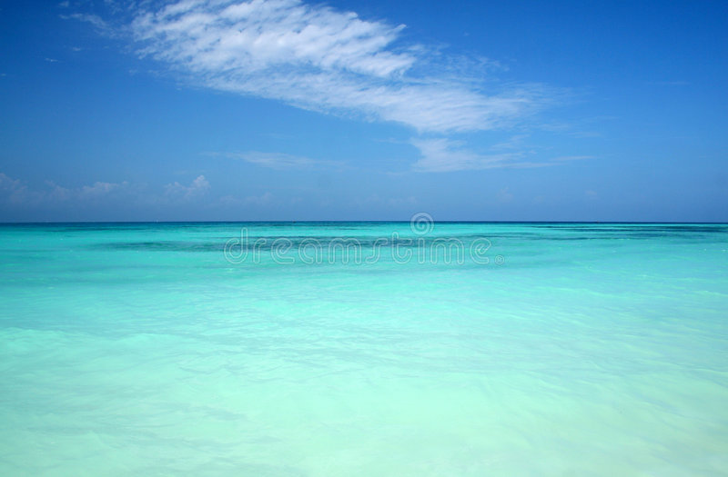 Download Turquoise Blue Sea stock photo. Image of turquoise, crystal - 3855972