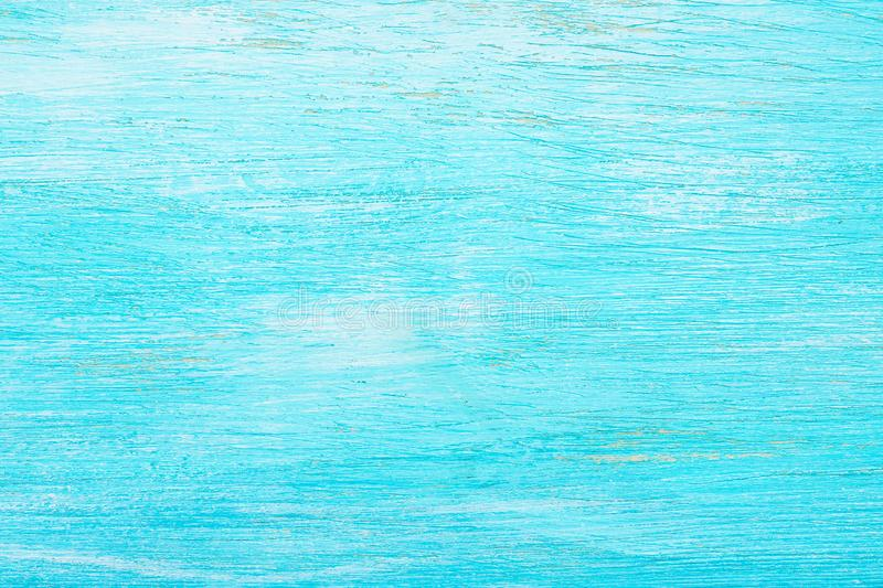 Turquoise colored wooden background. aquamarine. abstract texture royalty free stock image