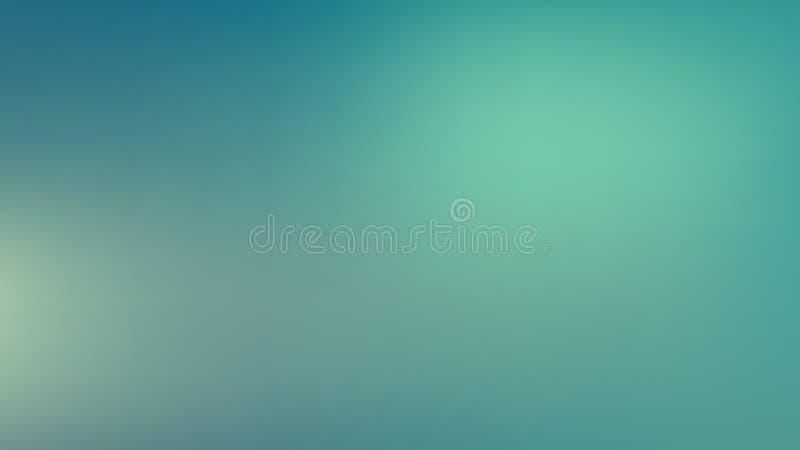 Turquoise Gaussian Blur Background Vector Illustratie vector illustratie