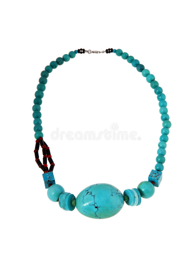 Turquoise jewelry royalty free stock image