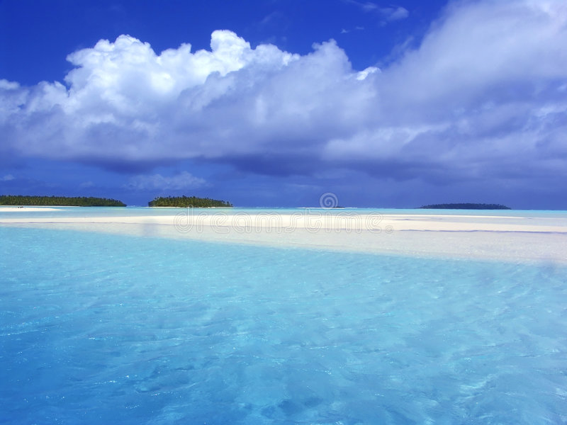 Download Turquoise Lagoon stock photo. Image of blue, relaxing, tahiti - 111444