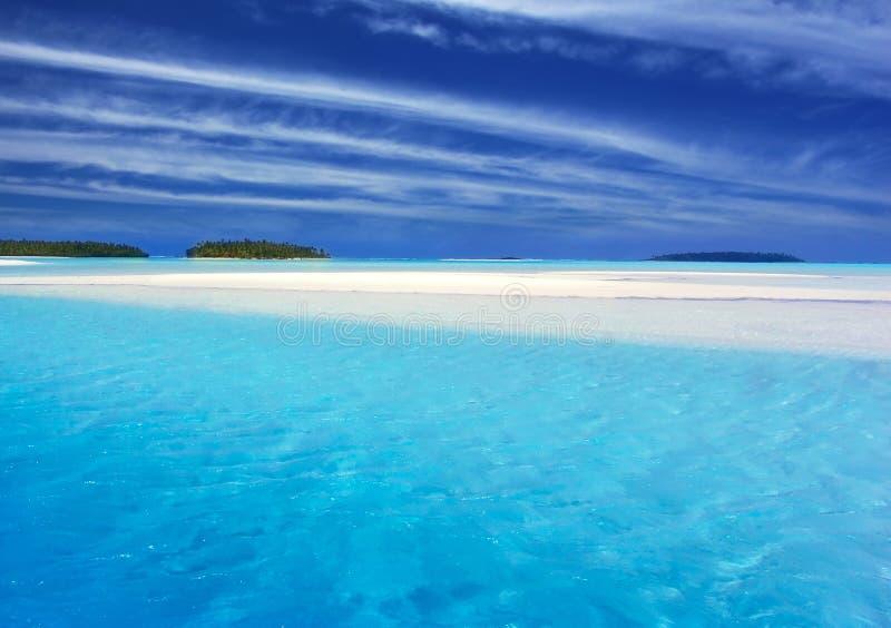 Turquoise Lagoon II stock image
