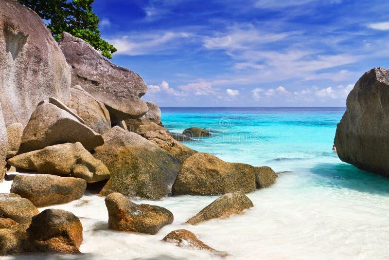 Download Turquoise Lagoon On Similan Islands Stock Photo - Image: 27855506