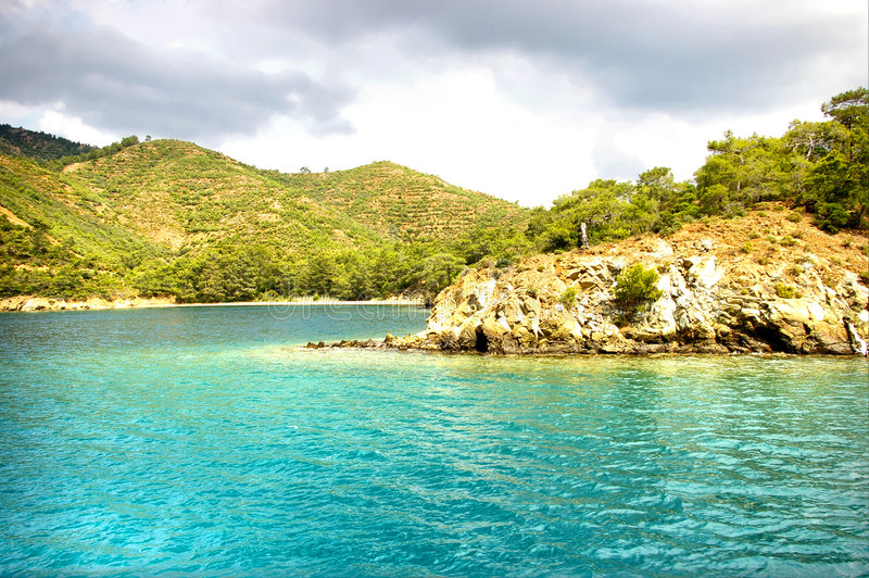 Download Turquoise Mediterranean Sea Stock Photo - Image: 5148620