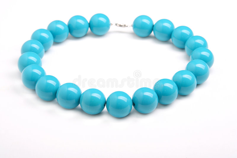 Turquoise Necklace Royalty Free Stock Images