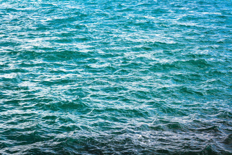 Turquoise ocean water royalty free stock images