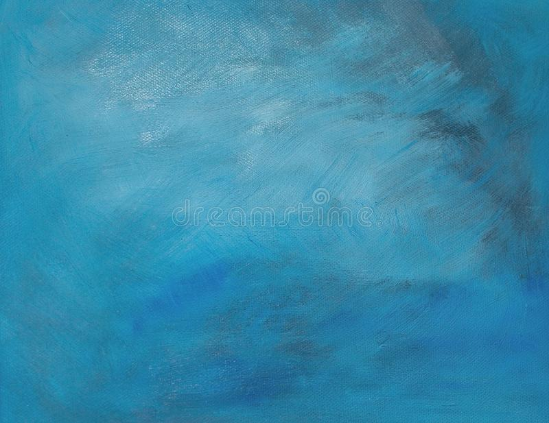 Blue/gray oil painting background royalty free stock photo