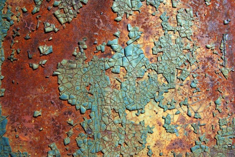 Turquoise paint 01 royalty free stock image