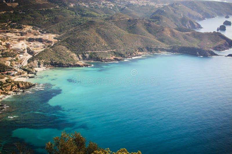 Turquoise Sardinia royalty free stock photography