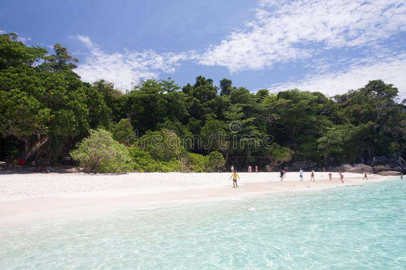 Download Turquoise Sea And White Sand Stock Image - Image: 83724927