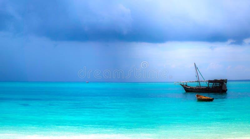 Turquoise tranquility stock photo