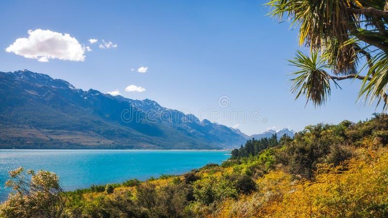 Download Summer View At Lake Wakatipu Stock Photo - Image of environment, lake: 108886362