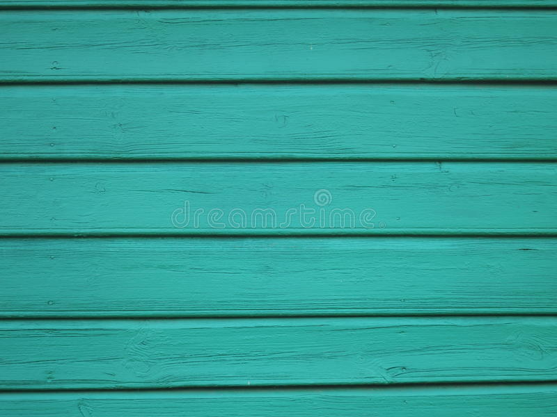 Turquoise Wood background - painted wooden planks for desk table wall or floor royalty free stock images