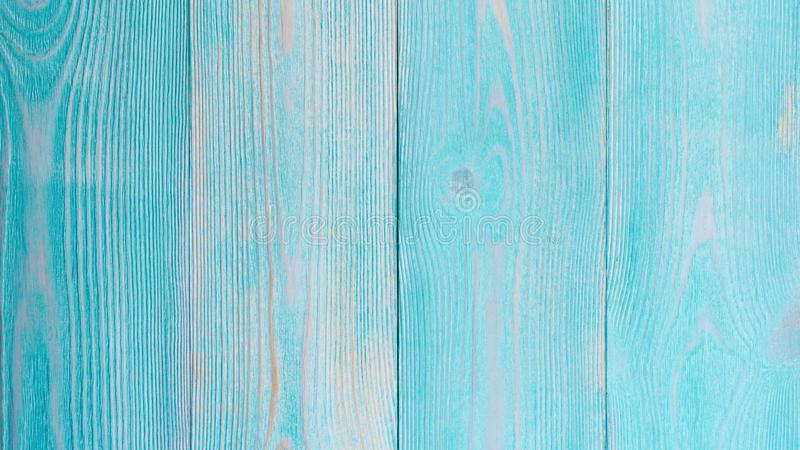 Turquoise Wooden Background royalty free stock images