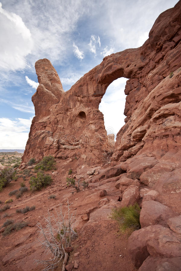 Download Turret Arch Arches National Park Moab Utah Royalty Free Stock Photo - Image: 17606785