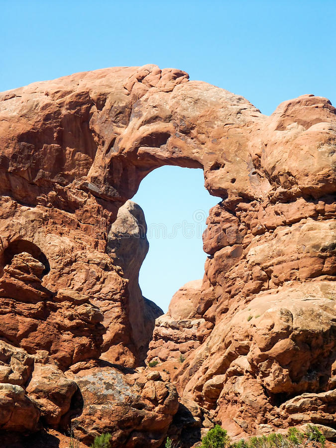 Download Turret Arch In Arches National Park Stock Photo - Image: 29742108